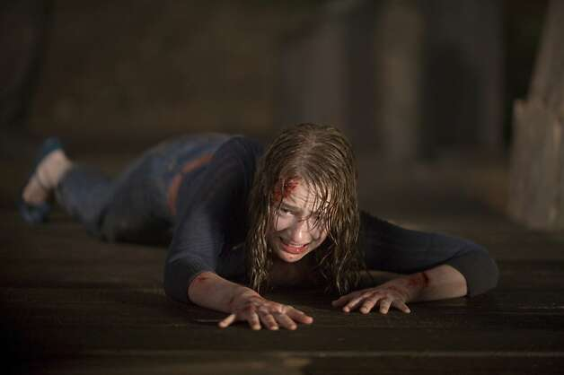 "Kristen Connolly stars as Dana in ""The Cabin in the Woods,"" a treat from Joss Whedon and Drew Goddard. Photo: Diyah Pera, Lionsgate"