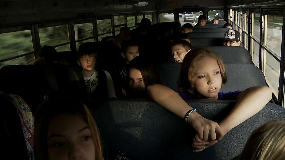 "As ""Bully"" shows, sometimes school buses can provide a venue for children to be picked on or ostracized, when teachers and administrators aren't around. Photo: The Weinstein Co."