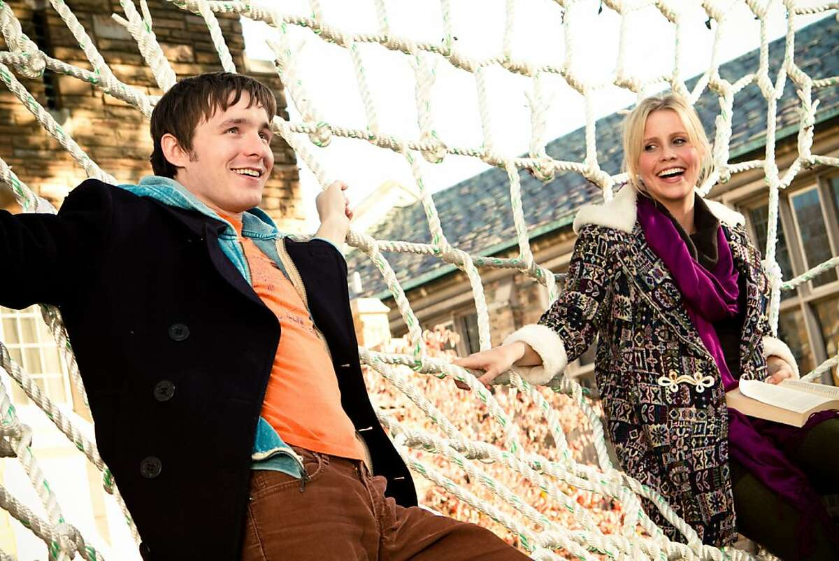 """Marshall Allman as Don and Claire Holt as Penny in, """"Blue Like Jazz."""""""