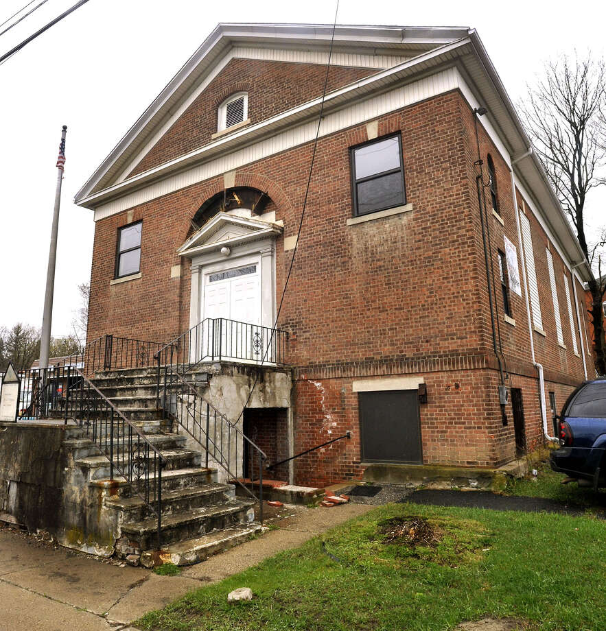 The Masonic Temple is on Greenwood Avenue in Bethel Saturday, March 31, 2012. Photo: Michael Duffy / The News-Times