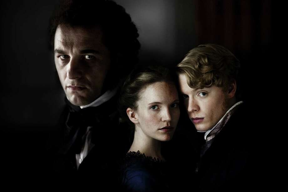 "Matthew Rhys, Tamzin Merchant and Freddie Fox bring Dickens' final novel to creepy life in ""The Mystery of Edwin Drood"" on PBS. Photo: Laurence Cendrowicz, BBC / © BBC 2011"