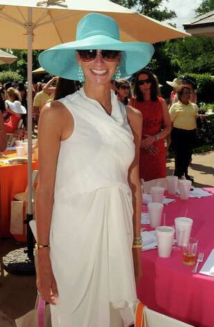 Lisa Holthouse at the River Oaks Country Club's Tennis Tournament Luncheon and Fashion Show Wednesday April 11,2012. (Dave Rossman/ For the Chronicle) Photo: Dave Rossman / © 2012 Dave Rossman