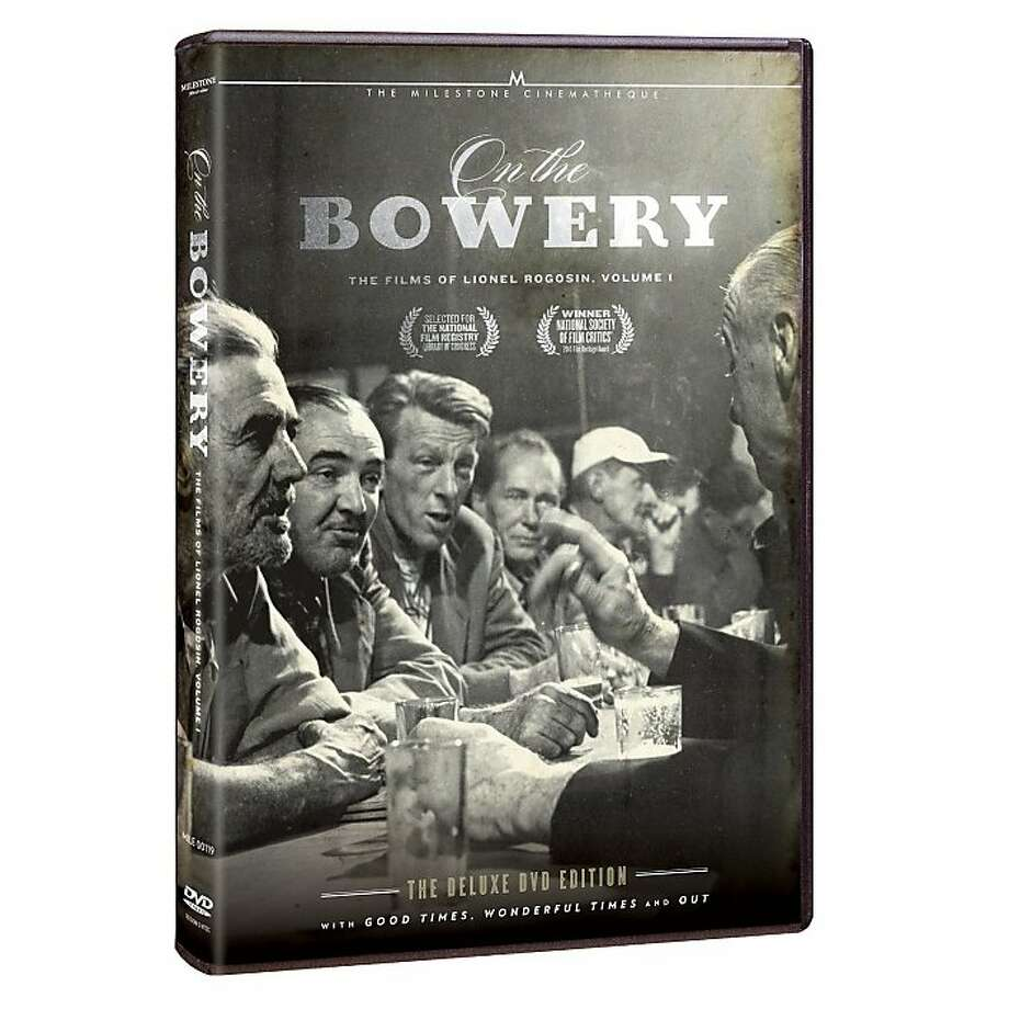 dvd cover ON THE BOWERY Photo: Criterion Collection, Amazon.com