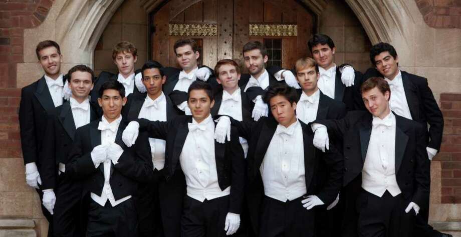 Fairfield-Grace United Methodist Church will host a performance by the Yale Whiffenpoofs, a male a capella singing group, 3 p.m. Saturday, April 14. Photo: Contributed Photo