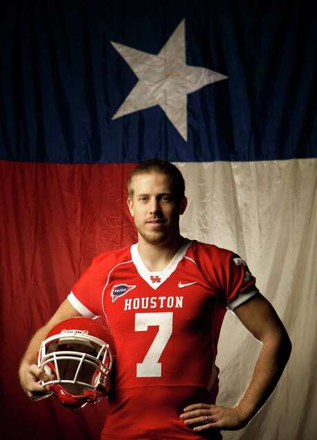 After exceeding all expectations at UH, Case Keenum must start over and again prove all the doubters wrong at the next level. But first things first - college football's record-breaking quarterback has to get his foot in the NFL door. Photo: Nick De La Torre / © 2011  Houston Chronicle