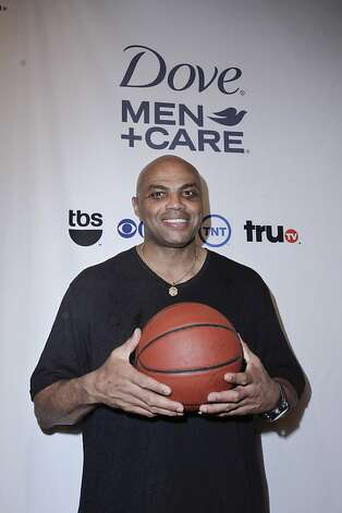 "NEW ORLEANS, LA - MARCH 30: Inside the NBA Analyst Charles Barkley joins DOVE Men+Care and Shaquille O'Neal in bringing his ""Journey to Comfort"" to NCAA Final Four Weekend by caring for the Boys and Girls Club of Southeast Louisiana at House of Blues on March 30, 2012 in New Orleans, Louisiana. (Photo by Lee Celano/Getty Images for Dove) Photo: Lee Celano, Getty Images For Dove"