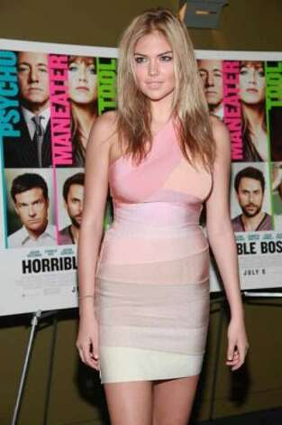 "NEW YORK, NY - JUNE 23:  Kate Upton attends the screening of ""Horrible Bosses"" at Sunshine Landmark on June 23, 2011 in New York City.  (Photo by Astrid Stawiarz/Getty Images) (Astrid Stawiarz / Getty Images)"