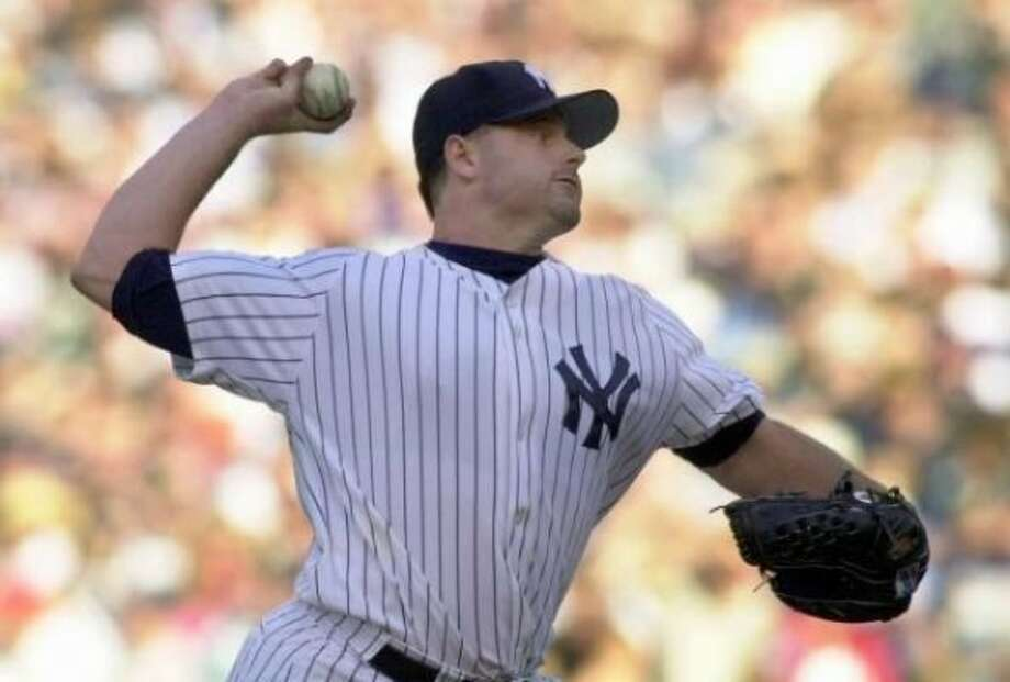 2002: Roger Clemens did not have a great season with the Yankees. He went only 13-6 with a 4.35 ERA and 192 strikeouts. (Associated Press)