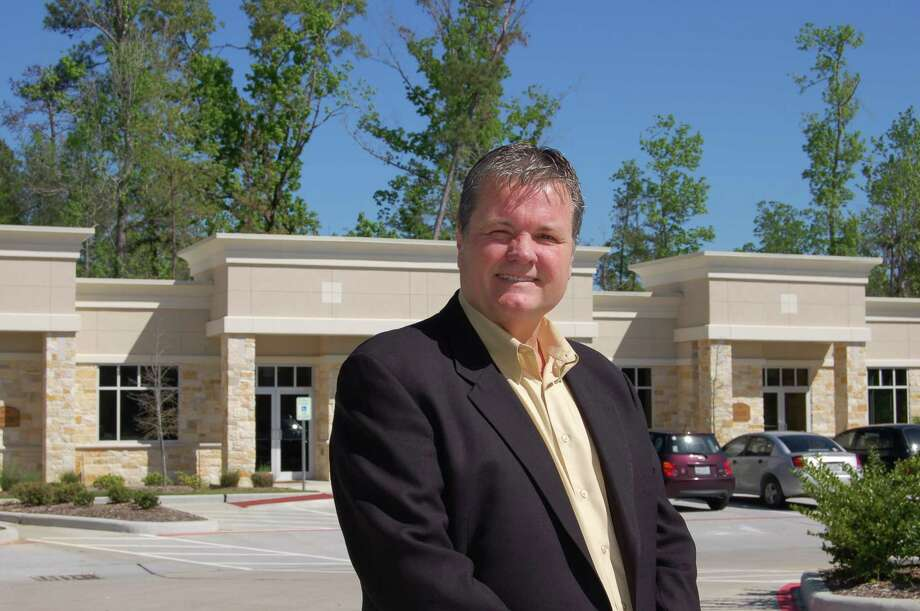 Pictured is Steve Hextell, vice president of commercial development for SHB Development, at sister property Forest Ridge Office Condominiums in The Woodlands.