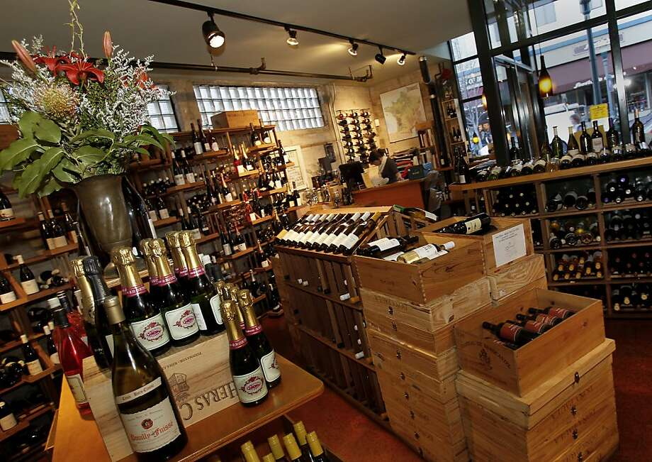 At Soif, the stock includes wines from northern Europe, southern Italy, Spain and California. Photo: Brant Ward, The Chronicle
