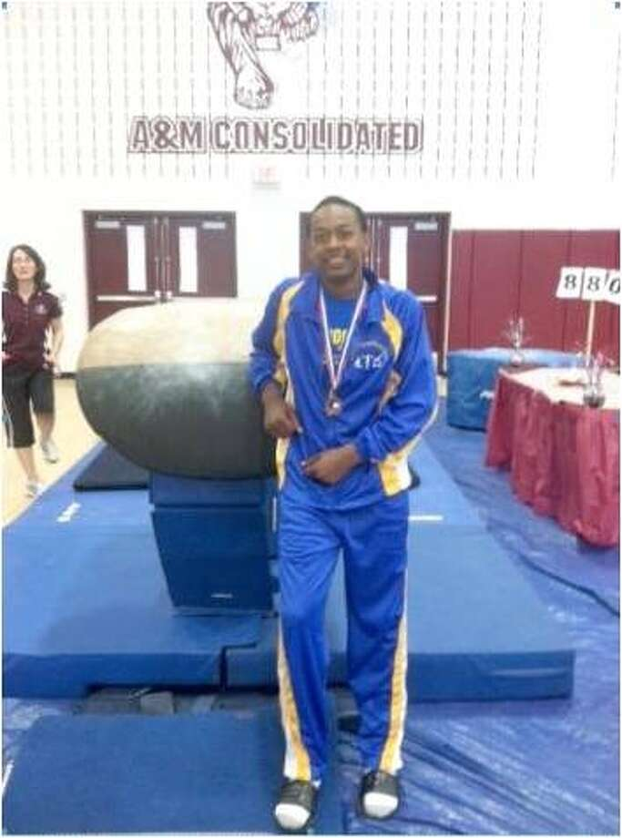 Leslie Anderson is a sophomore gymnast at Ozen. Photo: Courtesy Of Charles Colvin