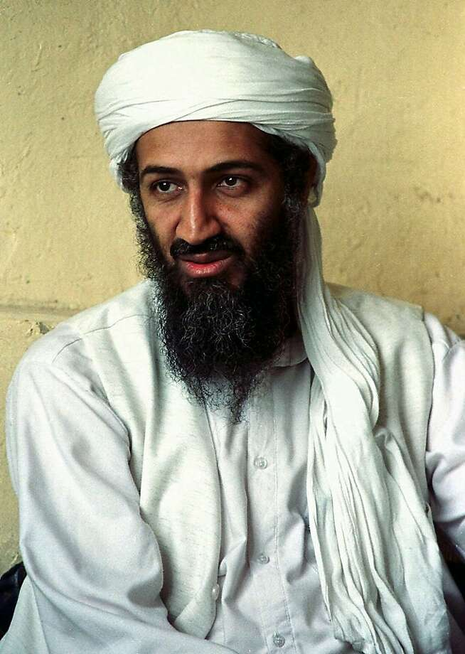 FILE - This April 1998 file photo shows exiled Saudi dissident Osama bin Laden is seen in Afghanistan. Bin Laden's died May 2, 2011 during a raid by U.S. Navy SEALs in Pakistan. (AP Photo/File) Photo: John Diaz, The Chronicle