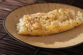 Creamy Baked Rice with a Spice Crust as seen in San Francisco on March 14, 2011. Food styled by Stephanie Kirkland.