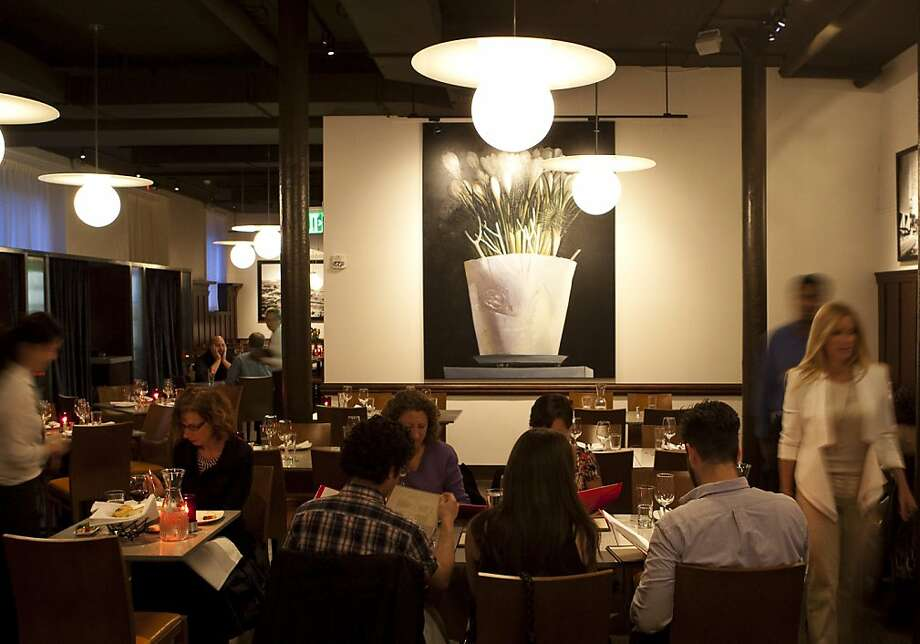 Interior of Burritt Room, Charlie Palmer's new San Francisco restaurant that opened 4/9/2012 Photo: Aubrie Pick
