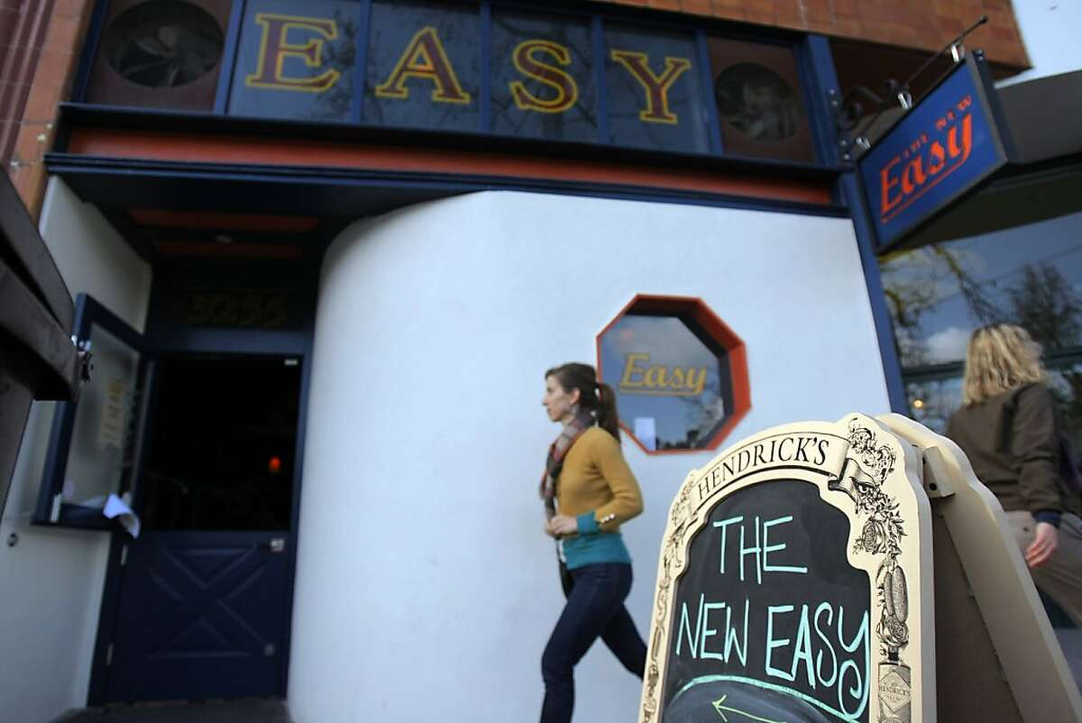 The New Easy bar in Oakland, Calif. on March 31, 2012.