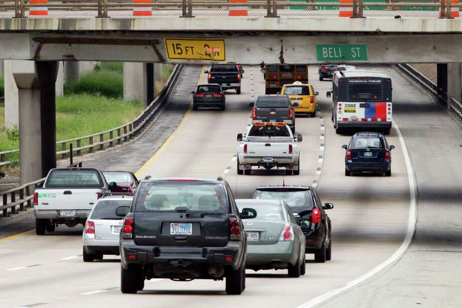 If you see someone using a turn signal, let that person over, at least one time, in 2014.  Photo: Brett Coomer, Houston Chronicle / © 2012 Houston Chronicle