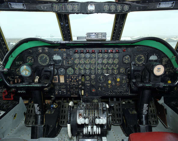 The flight deck of a B-52 is shown in this file photo. Photo: NASA, NASA/Getty Images / Getty Images North America