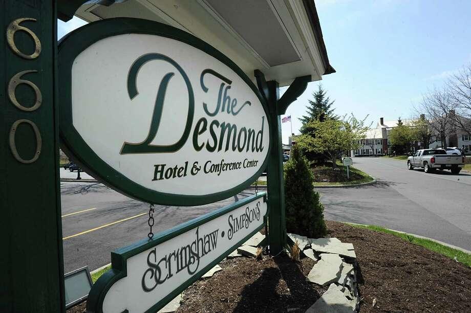 Exterior of The Desmond hotel April 13, 2012 in Colonie, N.Y. (Lori Van Buren / Times Union) Photo: Lori Van Buren