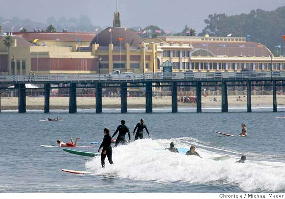 SANTA CRUZ BEACH BOARDWALK The classic beach and amusement park is the ideal destination for the first warm weekend in a while. So pack up, try to forget all you've heard about how terrifyingly it is portrayed in Jordan Peele's