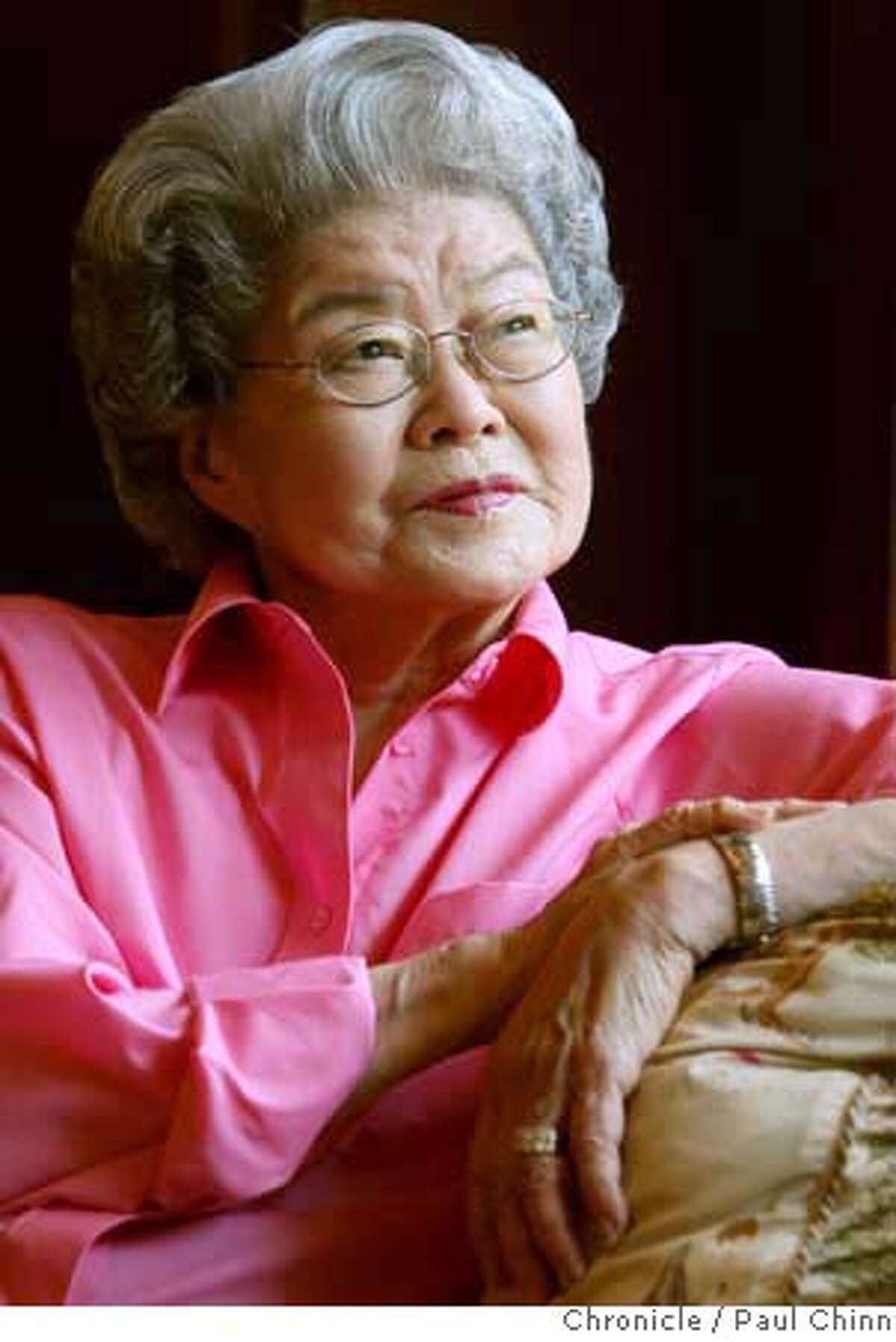 Tami Takahashi at her home in San Francisco, Calif. on Friday, Sept. 21, 2007. Takahashi spent four years at a Japanese internment camp in Utah after unsuccessfully trying to become an interpreter for the military during World war II. PAUL CHINN/The Chronicle **Tami Takahashi MANDATORY CREDIT FOR PHOTOGRAPHER AND S.F. CHRONICLE/NO SALES - MAGS OUT