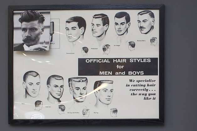 Barber Shop Haircut Styles