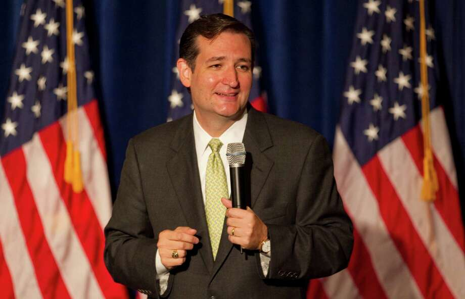 Ted Cruz, former state solicitor general, espouses conservative views. Lt. Gov. David Dewhurst may prove to be Cruz's biggest challenge, not his Hispanic name. Photo: Jay Janner / Austin American-Statesman