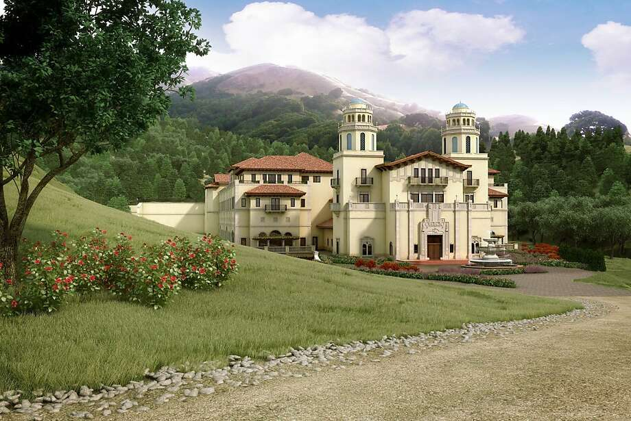 File - In this file photo of an artist rendering released by Lucas Films, a drawing of the proposed Industry Light & Magic campus, is shown. Lucasfilm Ltd., the force behind the Star Wars movies, said it has abandoned plans to build a big digital production studio on historic farmland in northern California, citing opposition from neighbors worried the environmental impact. The company owned by filmmaker GeorgeLucas said it planned to construct new facilities elsewhere. (AP Photo/Lucas Films, file) Photo: Anonymous, Associated Press