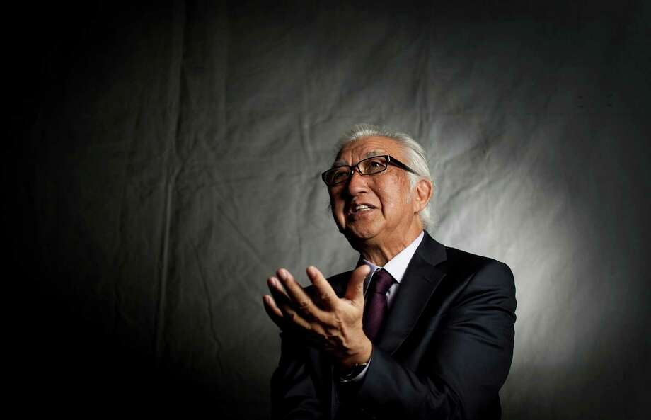Yoshio Taniguchi, as architect and designer of the new Asia Society Texas Center, had to deal with a small site in a transitional Museum District neighborhood. Photo: Nick De La Torre / © 2012  Houston Chronicle
