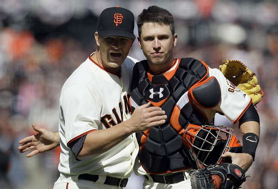 "Buster Posey: ""I was just excited to be back on the field. I'm humbled."" Photo: Jeff Chiu, Associated Press"