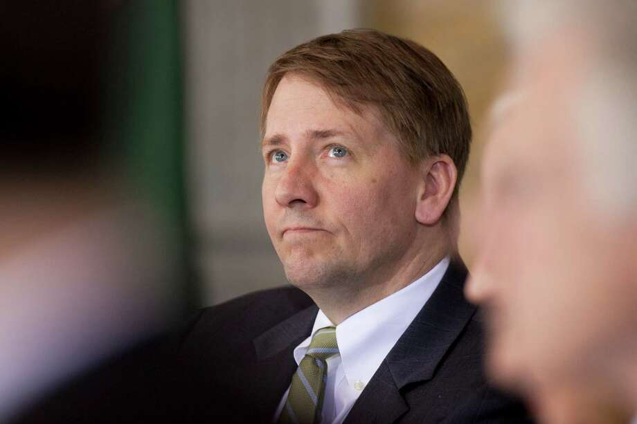 Richard Cordray, director of the Consumer Financial Protection Bureau (CFPB), attends a Financial Stability Oversight Council meeting in Washington, D.C., U.S., on Tuesday, April 3, 2012. The U.S. Financial Stability Oversight Council today approved a final rule to help the panel determine which non-bank financial firms require Federal Reserve scrutiny. Photographer: Andrew Harrer/Bloomberg *** Local Caption *** Richard Cordray Photo: Andrew Harrer / © 2012 Bloomberg Finance LP