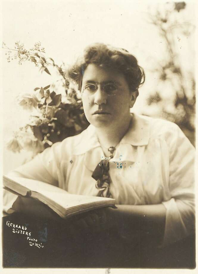 Early 20th century anarchist Emma Goldman, lionized by latter-day feminists, found social and philosoph- ical lessons in the sinking of the Titanic. Photo: Chronicle File Photo