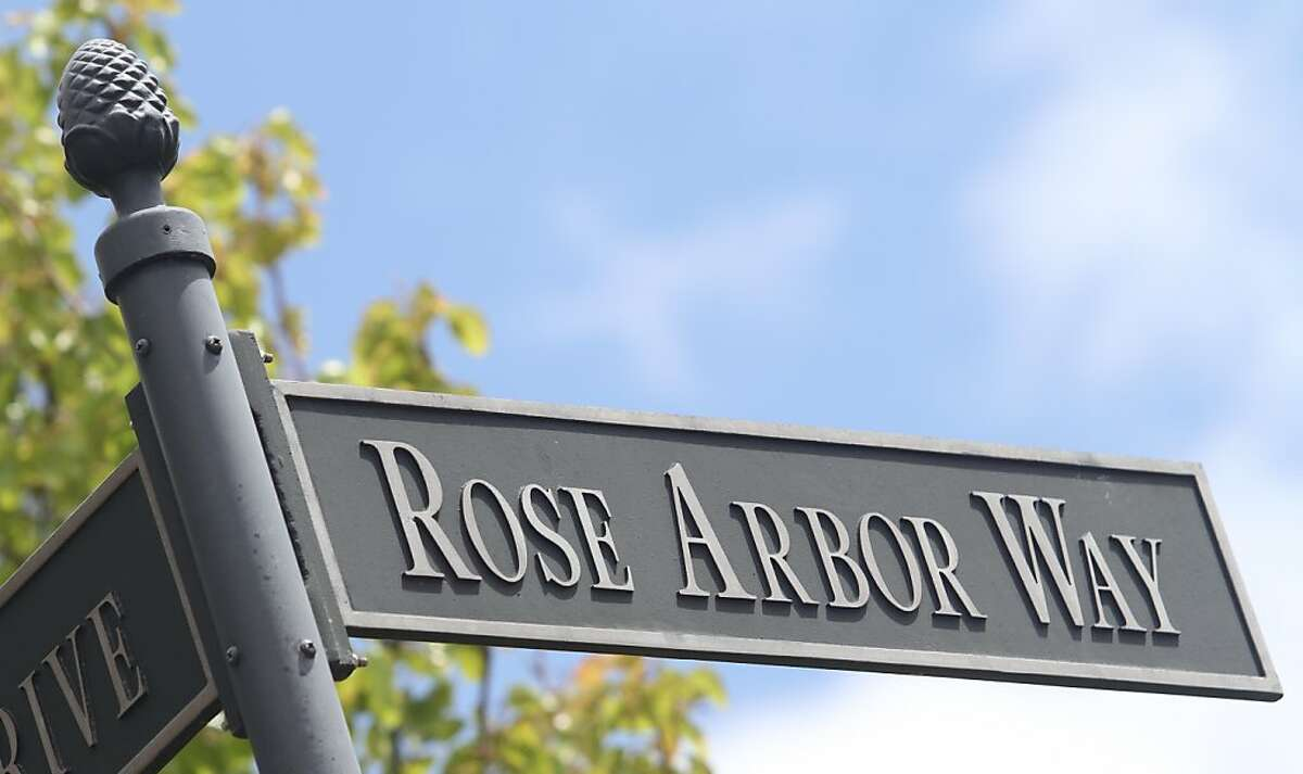 A street sign marks way at The Village at Hiddenbrooke on Friday, April 13, 2012, in Vallejo, Calif.