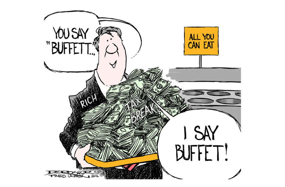 "Rich, Republicans fight against Obama's ""Buffett Rule"" Photo: John De Rosier"