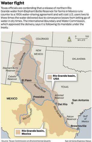 Rio Grande basin water fight Photo: San Antonio Express-News / SA