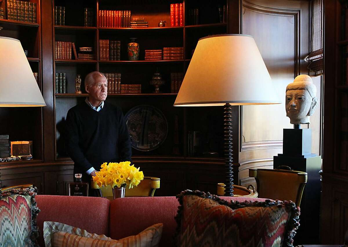 Founder of Partida Tequila J. Gary Shansby says that the library of his home in San Francisco, Calif., is one of his favorite rooms on Thursday, April 5, 2012. Gary Shansby is a noted brand builder with over 40 years of experience with consumer products companies.