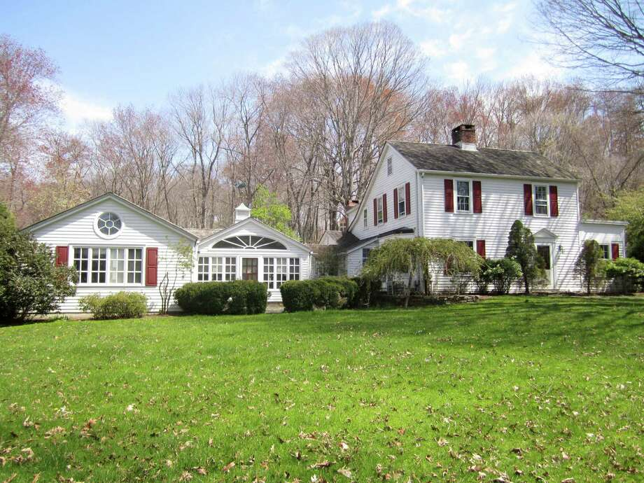 colonial farmhouse is 'private oasis' close to town - westport news