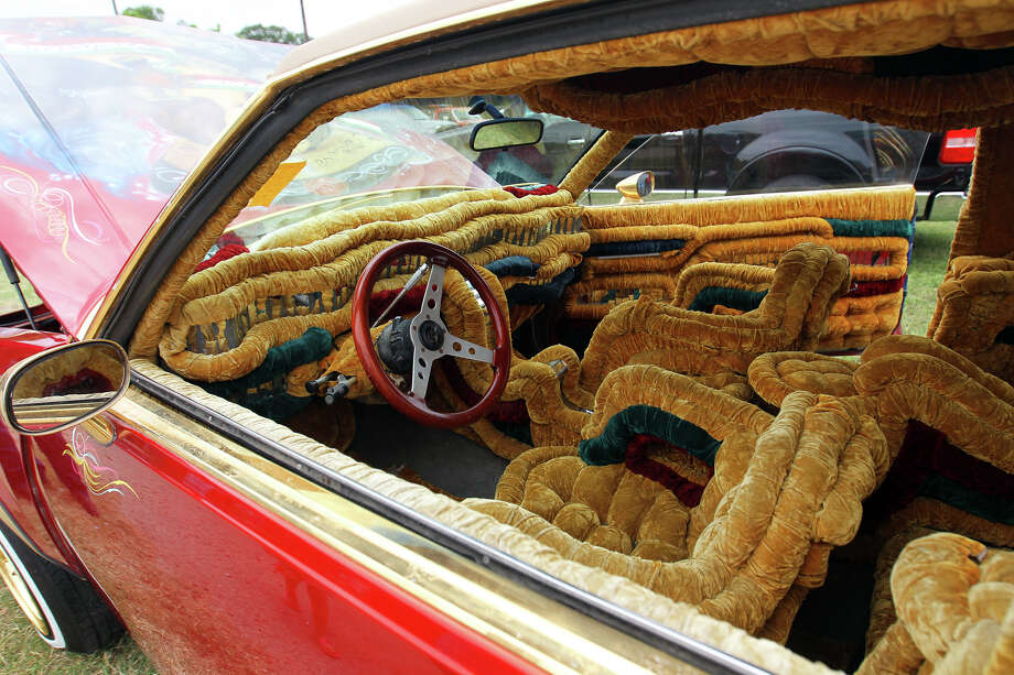 The interior of a Buick Regal on display during Centro Cultural Aztlan's 30th annual Low Rider Festival at Camargo park, Sunday, April 15, 2012. Photo: JENNIFER WHITNEY, Jennifer Whitney/ Special To The Express-News / special to the Express-News