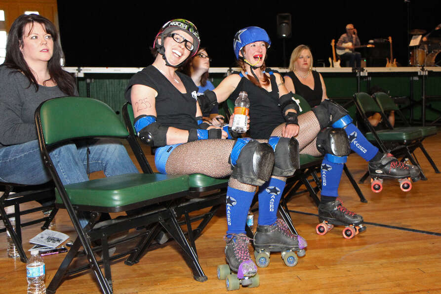 Were You Seen at the Albany All Stars Roller Derby 2011-12 Season Closer - The Derby-Taunt Ball on S