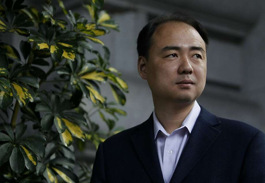 Chinese environmentalist Ma Jun is seen in San Francisco, Calif. on Thursday, April 12, 2012. Jun is the recipient of the Goldman Environmental Prize, which will be awarded on Monday. Photo: Paul Chinn, The Chronicle