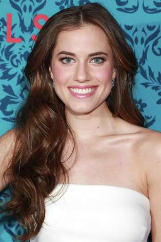 "Actress Allison Williams poses at the premiere of the HBO original series ""Girls,"" Wednesday, April 4, 2012 in New York. The comedy premieres April 15, at  10:30p.m. EST on HBO. Photo: AP"
