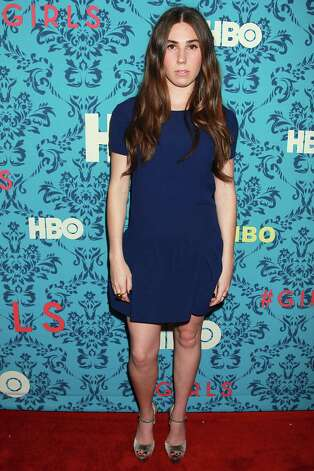 "Actress Zosia Mamet poses at the premiere of the HBO original series ""Girls,"" Wednesday, April 4, 2012 in New York. The comedy premieres April 15, at  10:30p.m. EST on HBO. Photo: AP"