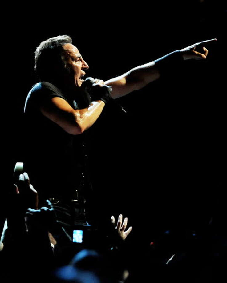 Bruce Springsteen performs with the E Street Band to a sold-out crowd on Thursday, May 14, 2009, at Times Union Center in Albany, N.Y. (Cindy Schultz / Times Union)