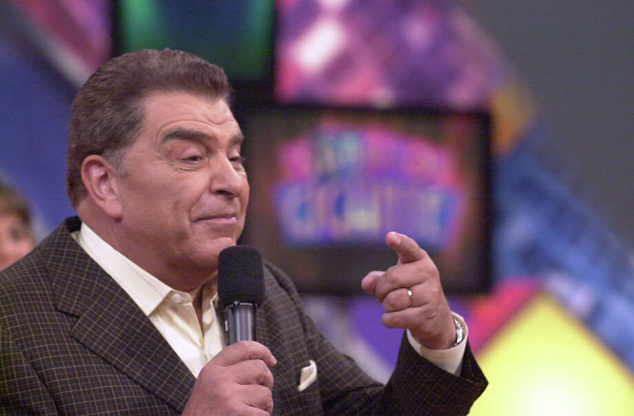 Mario Kruetzberger, who is best known as Don Francisco, host of Sabado Gigante.   Photo: HELEN L. MONTOYA, SAN ANTONIO EXPRESS-NEWS / SAN ANTONIO EXPRESS-NEWS