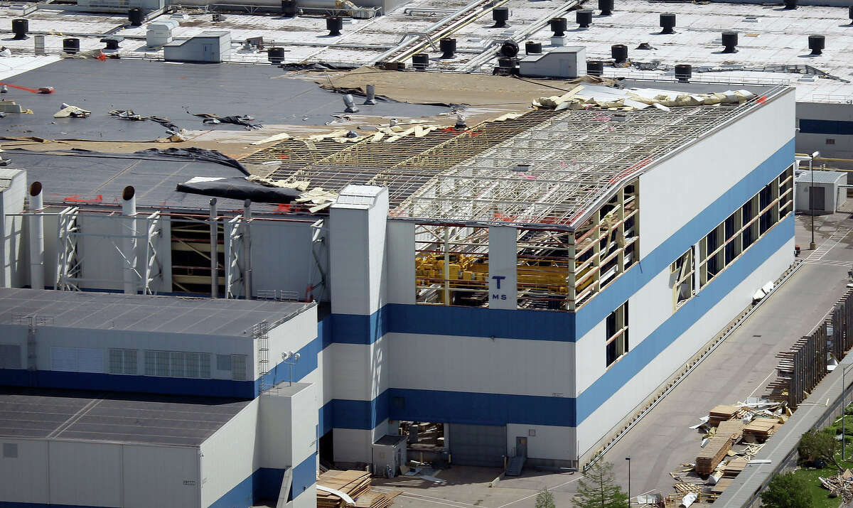 3. The San Antonio facility took over work in 2015 from a Boeing facility in Wichita, Kansas, pictured, that has been shut down.