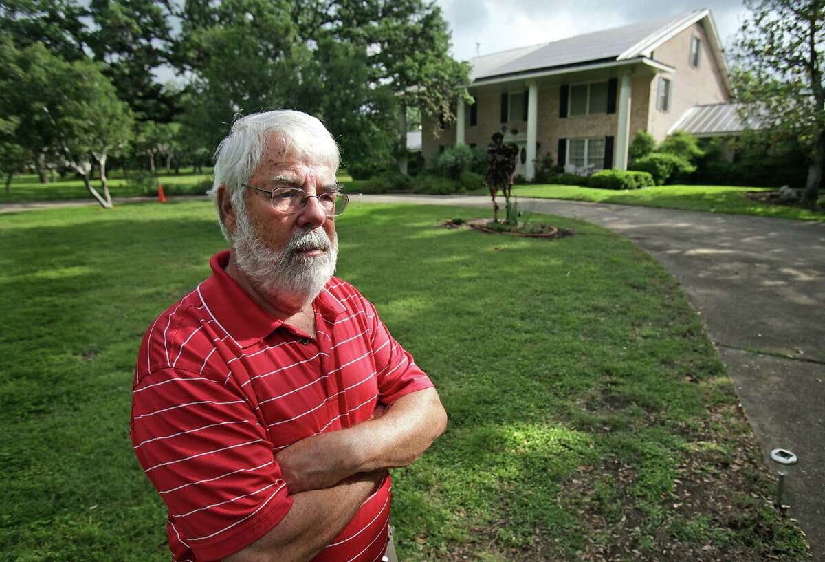Steve Hixon installed 56 solar panels that convert the sun's energy into electricity for his North San Antonio home. He acknowledges it will take time to recoup the costs.