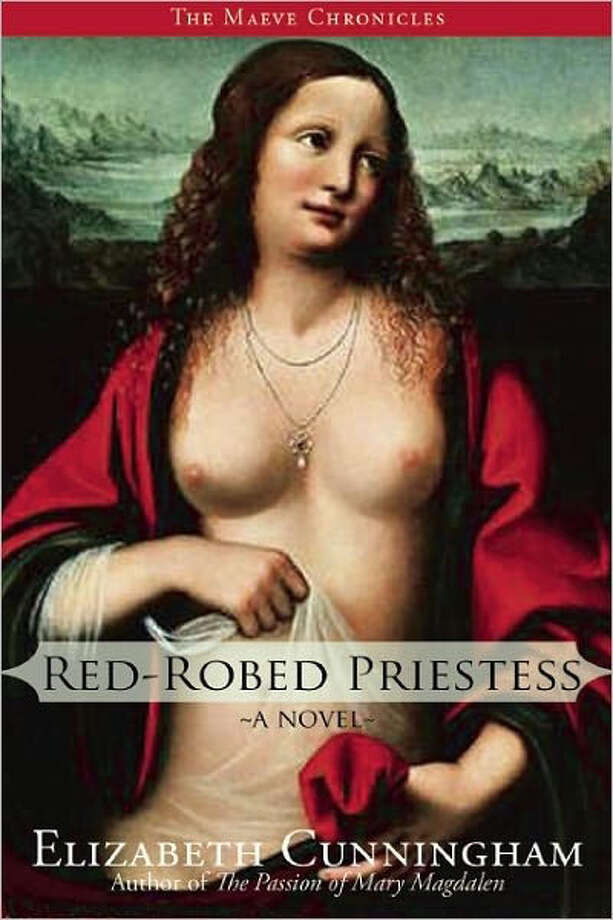 """Red Robed Priestess"" by Elizabeth Cunningham Photo: Elizabeth Cunningham"