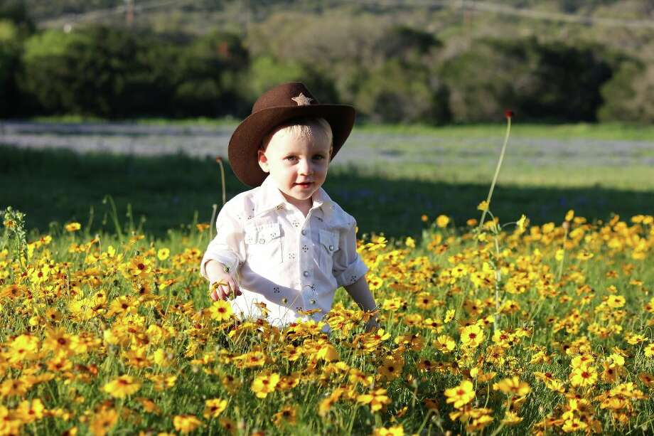 No bluebonnets for me! Photo: Ginger