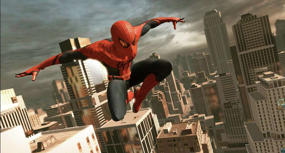 "Screenshot from ""The Amazing Spider-Man"" videogame, a tie-in to the summer movie."