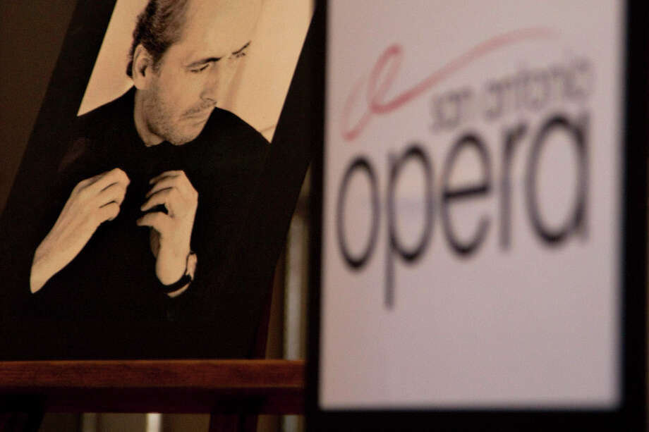 A photo of tenor Jose Carreras, used to announce the 2009-10 season, is a reminder of better times for the San Antonio Opera. Photo: Express-News File Photo / nfruge@express-news.net