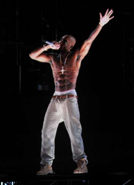 The Tupac hologram hasn't shown up anywhere in a long time. Just sayin' ....